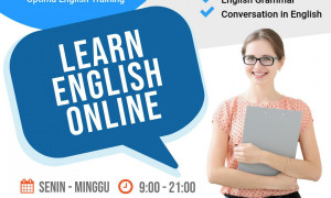 Les Privat Bahasa Inggris Online (TOEFL/IELTS/TOEIC, General English, English Grammar, Conversation)