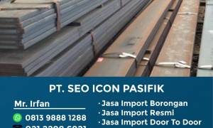 Jasa Import Flat Rolled | 081398881288