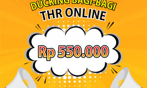 DucKing Delivery Bagi-Bagi THR Online - WA 0813 8662 7575